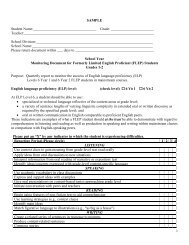 Monitoring Form 1-2-Level 6