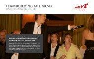 TEAMBUIldIng MIT MUSIK - Move GmbH