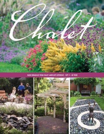 FALL 2010 - Chalet Nursery