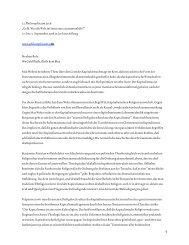 17. bis 21. September 2008 w - Philosophicum Lech