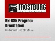 RN-BSN Program Orientation