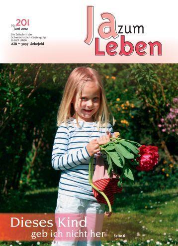 Dieses Kind - JA ZUM LEBEN Schweiz