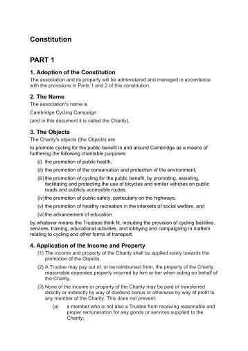 constitution and bylaws template - bylaws and constitution cycling bc