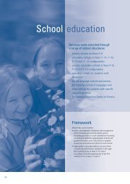 School education - Department of Education and Early Childhood ...