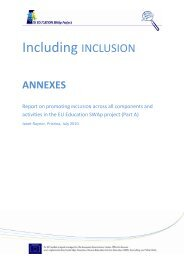 Including INCLUSION - EU EDUCATION SWAp Project