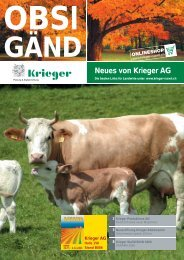 Krieger Abholcenter - Krieger AG