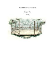 Chapter One Essays - S&S Homestead Farm