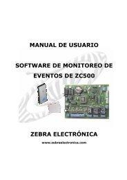 Manual Monitor ZC500.pdf - Zebra Electronica