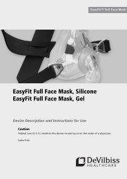 EasyFit Full Face Mask, Silicone EasyFit Full Face Mask, Gel