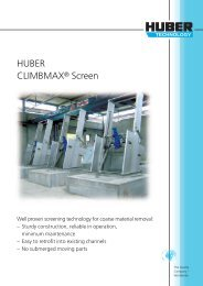 HUBER CLIMBMAX® Screen - brochure english