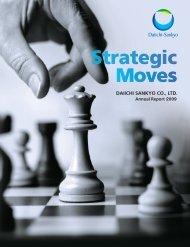 Annual Report 2009 - Daiichi Sankyo