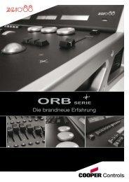 Die brandneue Erfahrung - ORB Series from Zero 88
