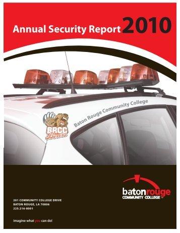 Crime Prevention Guide - Baton Rouge Community College