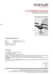 Raised floor:: SE01 Porcelain-Metal - Planium