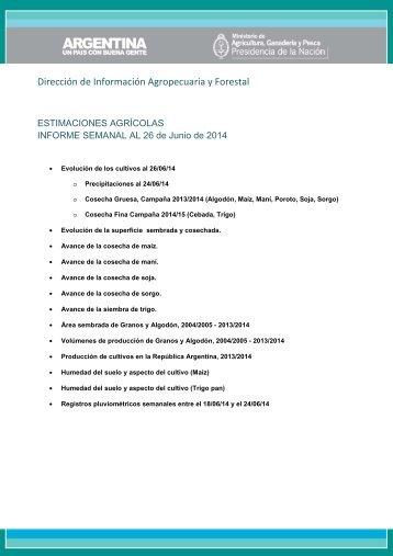 140626_Informe Semanal Estimaciones - al 26-Jun-2014