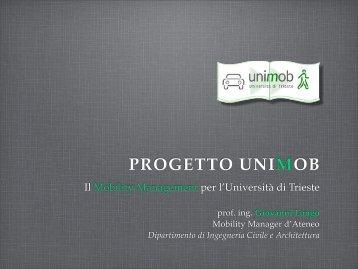 Presentazione UniMob - Piazzale Europa News