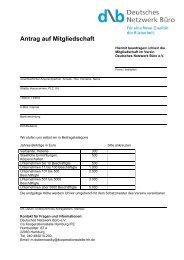 PDF: 970 KB - Deutsches Netzwerk Büro