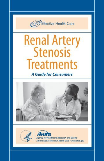 Renal Artery Stenosis Treatments - AHRQ Effective Health Care ...