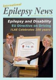 Epilepsy and Disability - International Bureau for Epilepsy