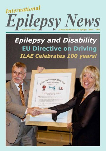Epilepsy and Disability - International Bureau for Epilepsy