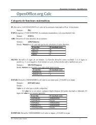 OpenOffice.org Calc - UNPA
