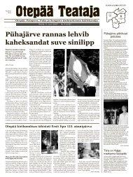 OT 9 2007.indd - Otepää vald