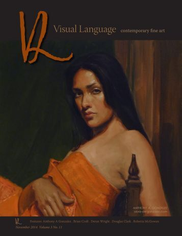 Visual Language Magazine Contemporary Fine  Art - Vol 3 No 11