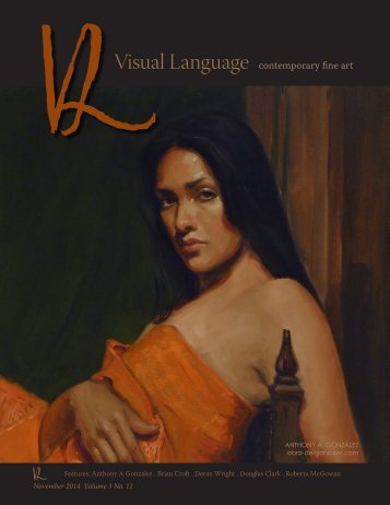 Visual Language Magazine Contemporary Fine  Art - Vol 3 No 11
