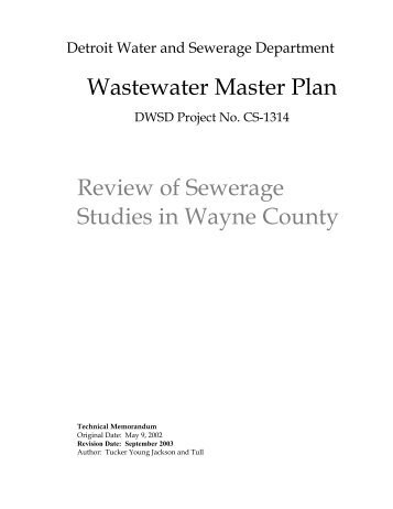 Ema presentation detroit water and sewerage department review of sewerage studies in wayne county detroit water and publicscrutiny Image collections
