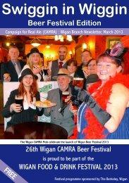Swiggin in Wiggin Beer Festival Edition - Wigan