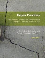 Repair Priorities - Smart Growth America