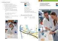 Zweijähriges Berufskolleg für biotechnologische Assistentinnen / As
