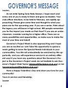 Florida Key Club's Sunshine Source Vol X  No 6 Feb-Mar 2015 - Page 4