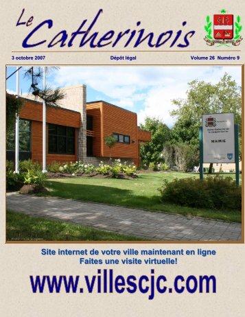 Octobre 2007 - Ville de Sainte-Catherine-de-la-Jacques-Cartier