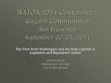 Gabriel Garcia Presentation - NATOA