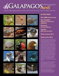 Spring/Summer 2010 - Galapagos Conservancy