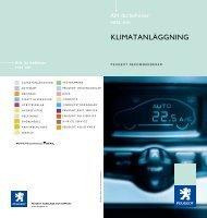 KLIMATANLÄGGNING - Peugeot