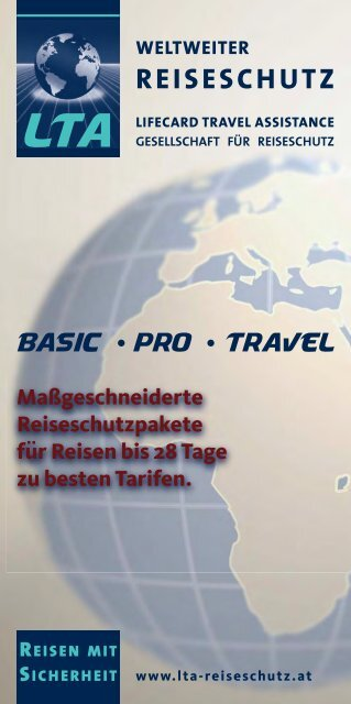 Info BASIC – PRO - TRAVEL