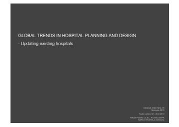 Updating existing hospitals - the International Academy of Design ...