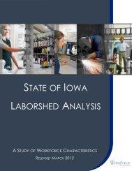 Iowa Statewide Laborshed Report 2012 - Iowa Workforce ...