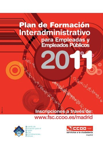 Plan Interadministrativo de Formación Continua 2011 para ...