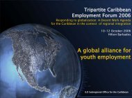 A global alliance for youth employment - International Labour ...