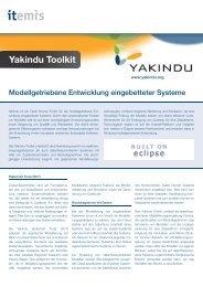 Yakindu Toolkit - itemis AG