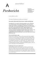 Persbericht: Keurmerk stimuleert duurzaam ondernemerschap