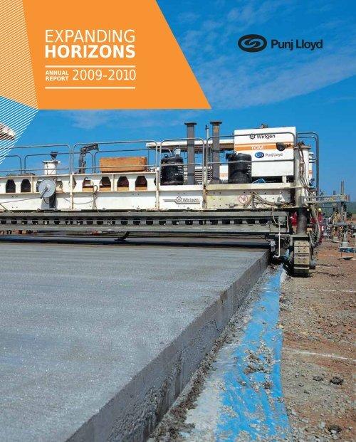 Annual Report 2009 - Punj Lloyd Group