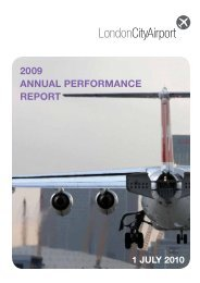 Report - London City Airport Consultative Committee