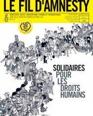 SOLIDAIRES POUR LES DROITS HUMAINS - amnesty.be