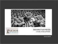 Catálogo Decoración - Garcimar Artesanos