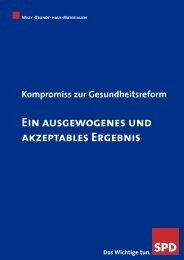 Der Gesundheitskompromiss - SPD Ortsverein Tawern