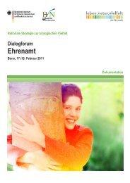 Download der Dokumentation - Biodiversität - schützen.nutzen.leben